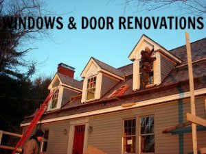 Windows and door renovations
